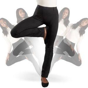 Betabrand straight leg classic dress yoga pant